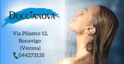 offerta box doccia vendita e installazione verona e provincia occasione costruzione cabine doccia su misura