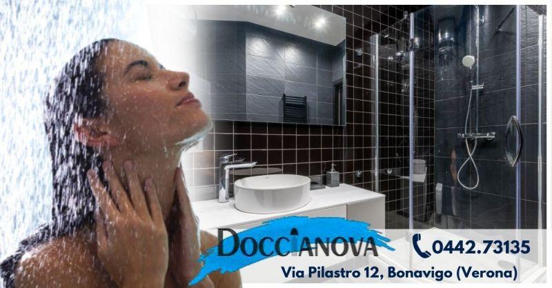 Offerta vendita box doccia in cristallo Verona - Occasione produttori box doccia in acrilico Verona
