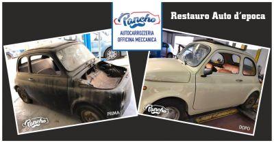 pancho offerta restauro carrozzeria auto depoca occasione restauro vetture depoca la spezia