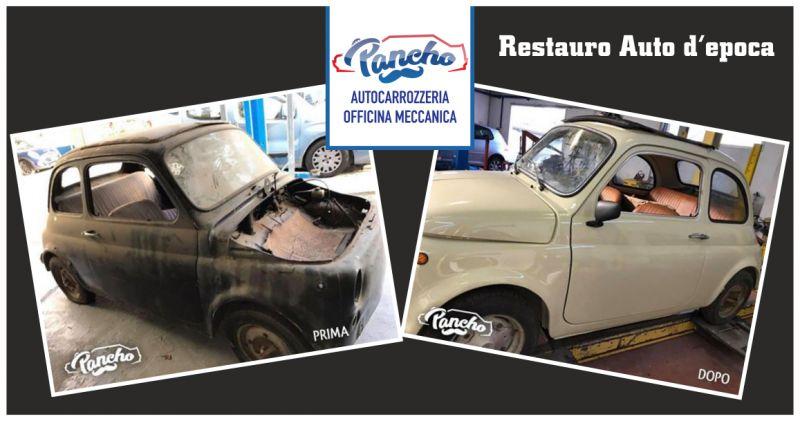 pancho offerta restauro carrozzeria auto d'epoca - occasione restauro vetture d'epoca la spezia