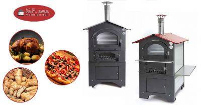 offerta forno fontana per barbecue su ruote como promozione forno fontana da incasso per pizzerie e ristoranti