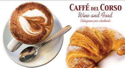 caffe del corso offerta caffetteria colazioni per studenti como promozione prima colazione per studenti como