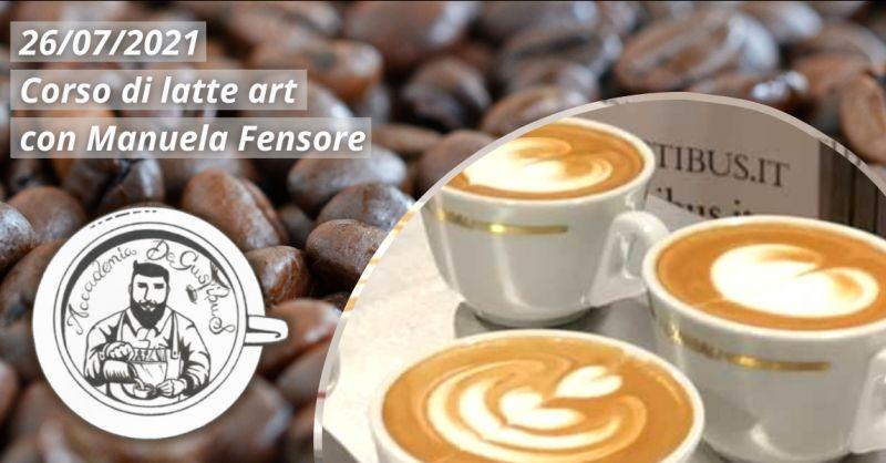 Offerta corso di latte art Roma - occasione corso di formazione latte art Roma