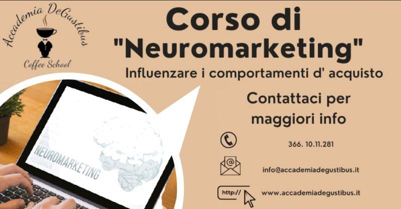 Offerta corso di neuromarketing Roma - occasione corso di marketing emozionale Roma