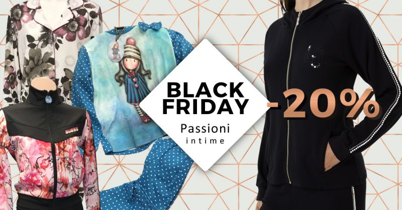 Offerta Black Friday Negozio Abbigliamento Roseto Abbruzzi - Occasione Pigiami Uomo Donna Roseto Abruzzi