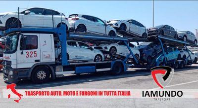 iamundo trasporti offerta trasporto vetture moto e furgoni promozione trasporto di vetture nel territorio nazionale