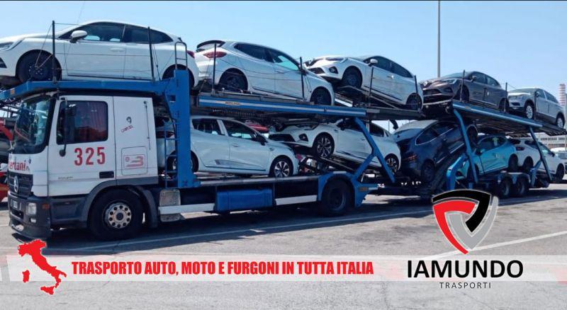 Iamundo Trasporti - Offerta trasporto vetture moto e furgoni – promozione trasporto di vetture nel territorio nazionale