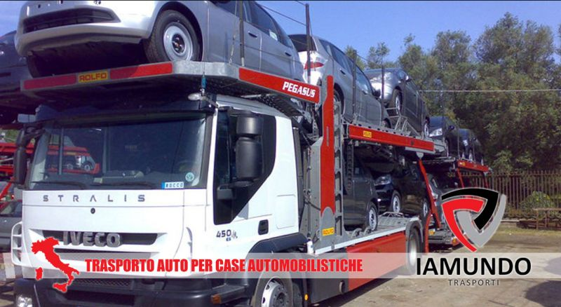 Iamundo Trasporti – Offerta trasporto con bisarca auto per concessionarie – promozione trasporto auto per case automobilistiche