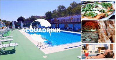 offerta drink e pizza a bordo piscina a oniferi nuoro