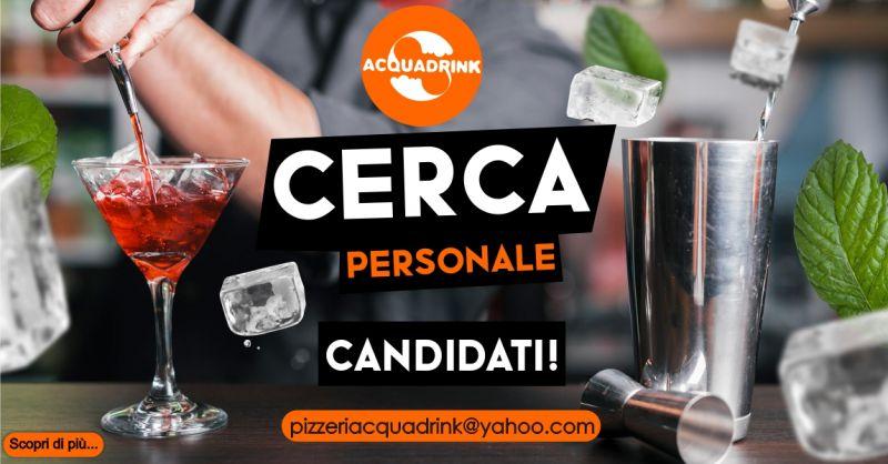 ACQUA DRINK Oniferi - offerta di lavoro barista cameriere/a