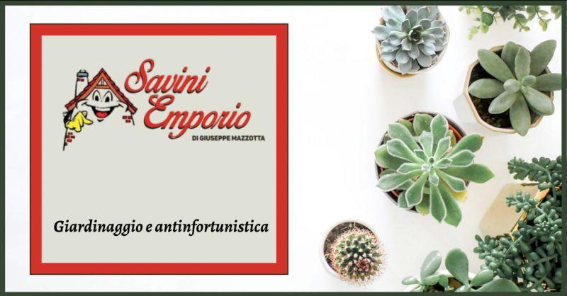 Offerta articoli antinfortunistica roma - occasione vendita prodotti per il giardinaggio roma