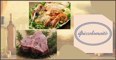 piccolo maito offerta ristorante menu di carne e menu di pesce versilia