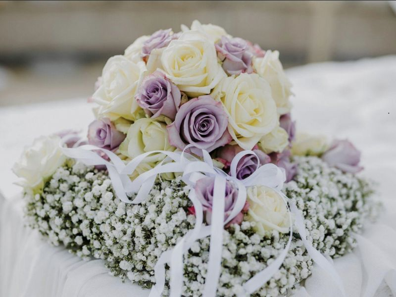 Offerta Composizione bouquet da sposa Lucca - Musetti Garden