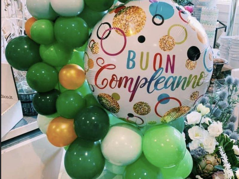 Offerta composizioni con palloncini per eventi Lucca - Musetti Garden