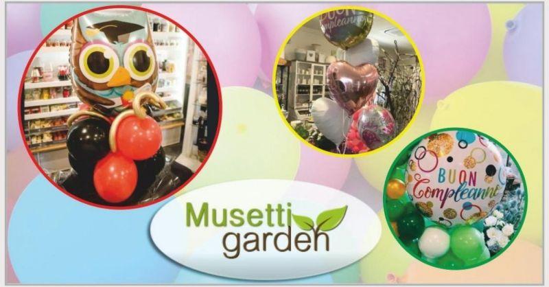 MUSETTI GARDEN - promozione composizione palloncini per eventi e compleanni Lucca