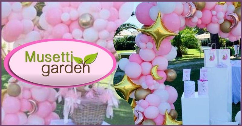 MUSETTI GARDEN - occasione allestimento strutture palloncini per eventi e cerimonie