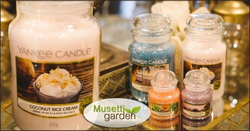 offerta vendita candele profumate Yankee Versilia - MUSETTI GARDEN