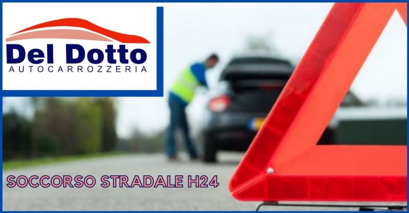 AUTOCARROZZERIA DEL DOTTO - offerta servizio soccorso stradale h24 Lucca e provincia
