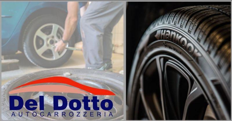 AUTOCARROZZERIA DEL DOTTO - promozione cambio gomme e pneumatici invernali Versilia