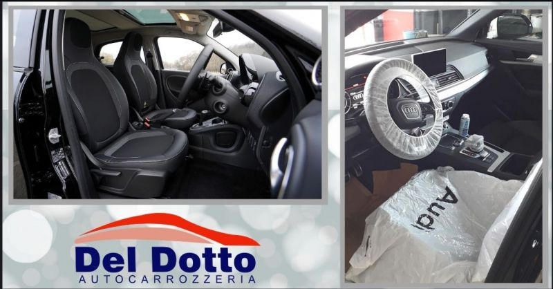 occasione pulizia e sanificazione interni auto Lucca e Versilia - AUTOCARROZZERIA DEL DOTTO