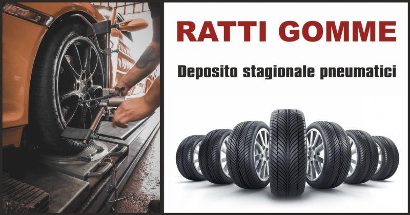 ratti gomme offerta deposito stagionale pneumatici - occasione deposito gomme massa carrara