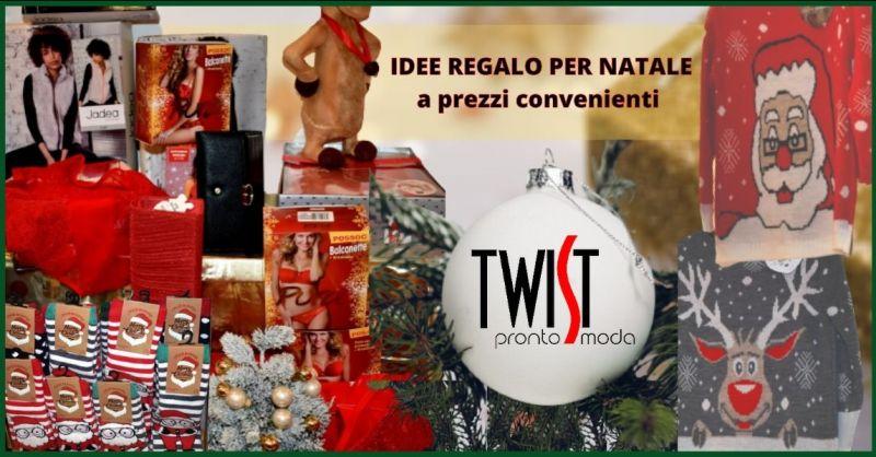 occasione regali di natale uomo donna Pistoia - offerta negozio abbigliamento Pistoia