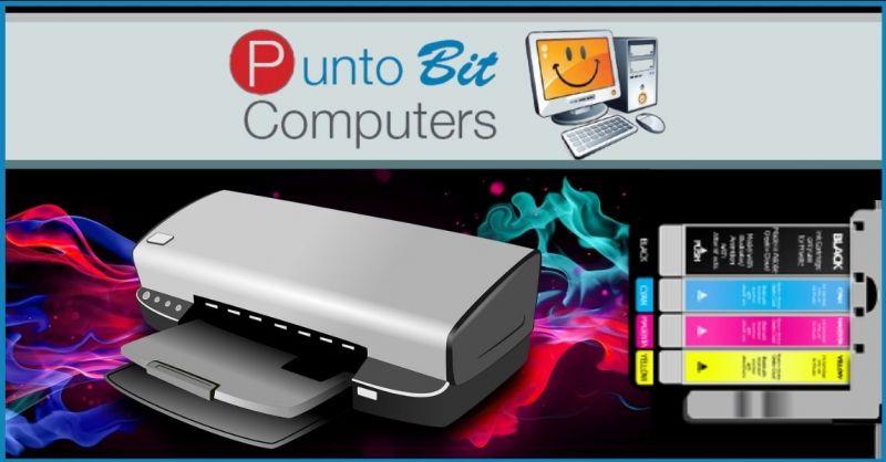 PUNTO BIT - offerta vendita cartucce e toner per stampanti originali compatibili Pistoia