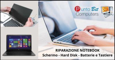 offerta riparazione notebook e computer pistoia occasione assistenza tecnica computer e notebook