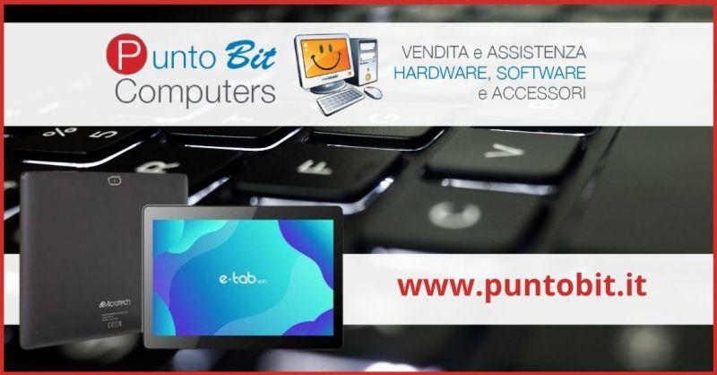 offerta tablet E-tab a prezzo scontato  - occasione negozio Computer e stampanti Pistoia