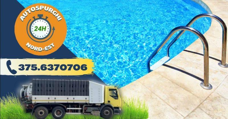 Offerta servizio professionale pulizia piscine Verona - Occasione pulizia bonifica vasche interrate Verona