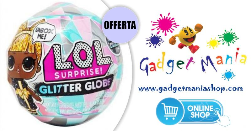 Gadget Mania Shop online - offerta bambola lol  surprise  glitter globe serie winter disco