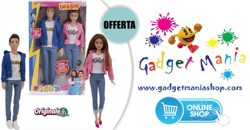 Gadget Mania Shop online - offerta me contro te coppia bambole Sofi e Lui originale giochi preziosi