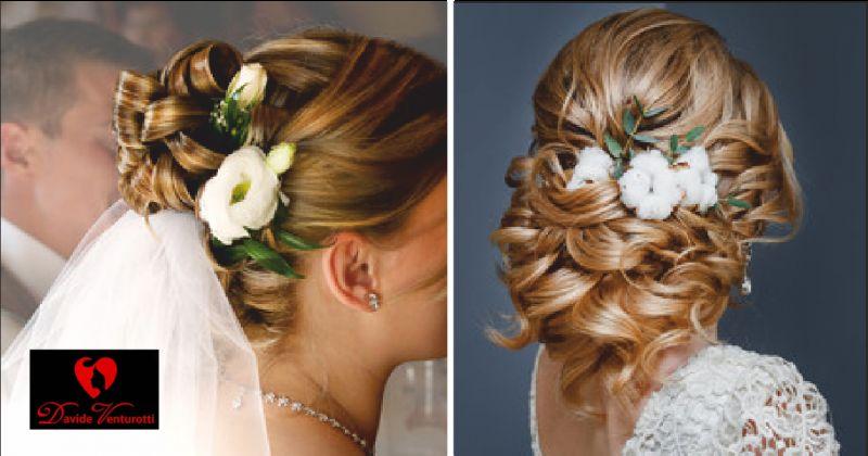 parruchiere venturotti offerta acconciature sposa - occasione hair look sposa massa carrara