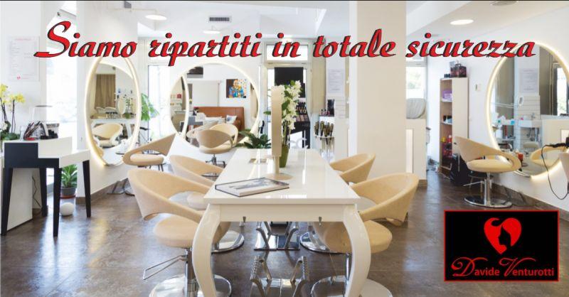 parrucchiere venturotti offerta sanificazione salone - occasione misure anti covid19 carrara