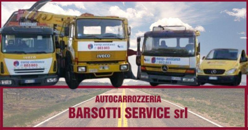 BARSOTTI SERVICE –  offerta Soccorso stradale h24 Versilia e gestione completa sinistri