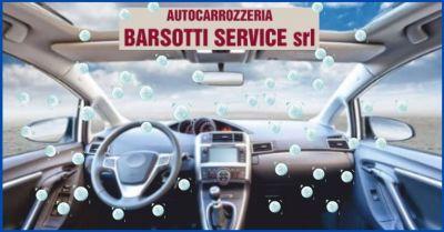 occasione sanificazione auto all ozono e igienizzazione interna dell auto barsotti