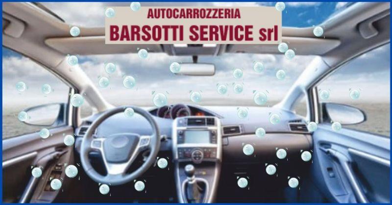 occasione sanificazione auto all' ozono e igienizzazione interna dell'auto - BARSOTTI