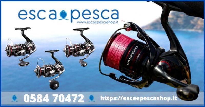 occasione mulinello Shimano spinning medio e spinning in mare - ESCA E PESCA