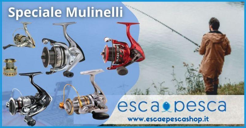 offerta mulinelli da pesca delle migliori marche Versilia e Lucca - ESCA E PESCA
