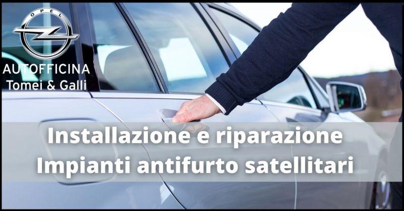 promozione installazione e riparazione impianti antifurto satellitari per auto  Lucca