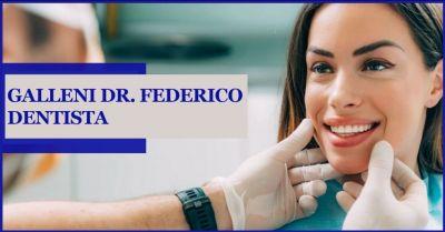 studio dentistico dottor galleni offerta sbiancamento dentale e odontoiatra estetica
