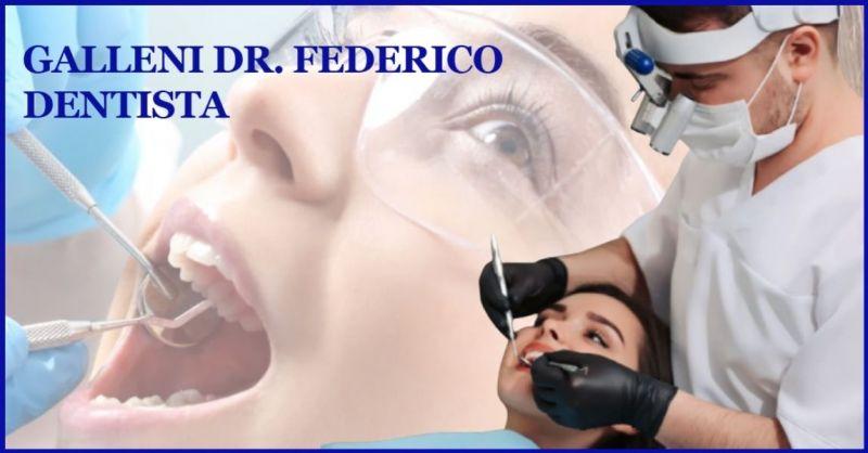 STUDIO DENTISTICO GALLENI - offerta Endodonzia e Devitalizzazione dentale Lucca