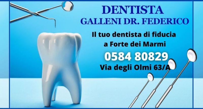 occasione dentista per la cura dei denti e bocca Lucca - GALLENI DR FEDERICO