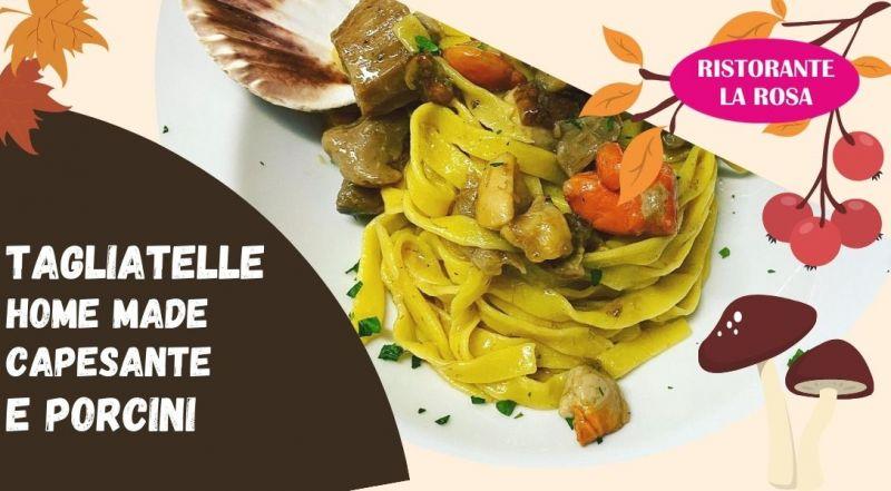 Occasioni ristorante con piatti autunnali funghi e capesante a Treviso – Offerta ristorante di pesce fresco e Treviso