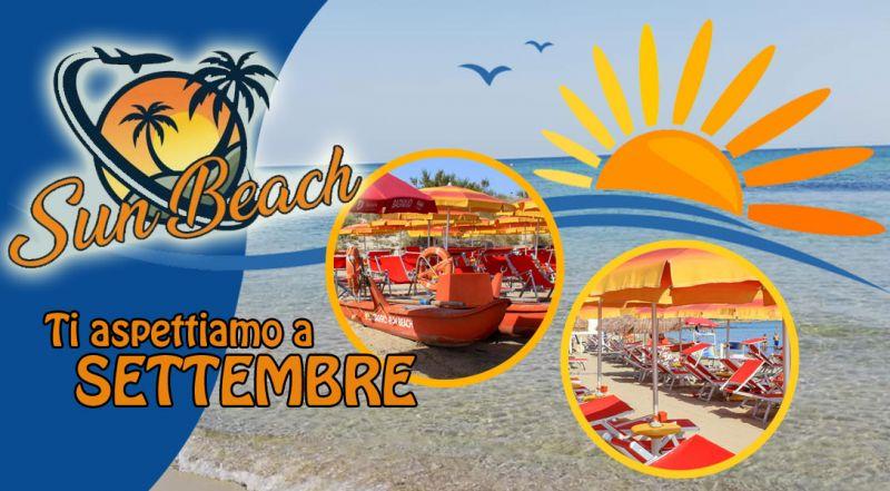 offerta stabilimento balneare vacanza settembre salento - promozione spiaggia attrezzata vacanza mare settembre salento