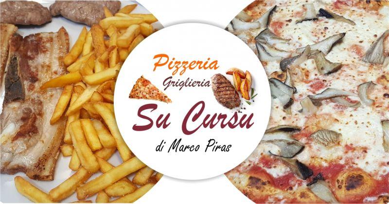 Su Cursu Oliena - offerta Pizzeria griglieria con terrazza coperta