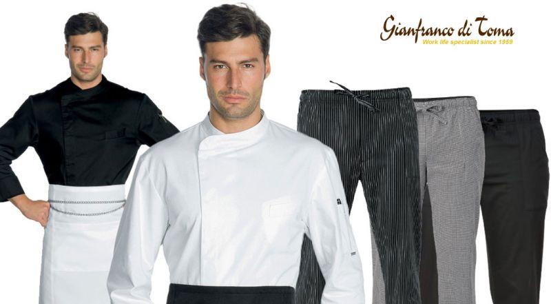 Offerta fornitura capi abbigliamento chef – promozione abbigliamento professionale chef online