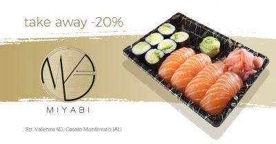 miyabi japanese restaurant offerta ristorante giapponese take away casale monferrato