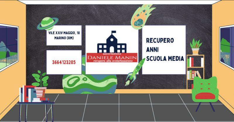 DANIELE MANIN - Offerta istituto per recupero anni scolastici scuola media Grottaferrata