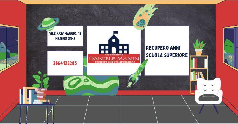 DANIELE MANIN - Offerta corsi recupero anni scolastici scuola superiore Rocca Di Papa